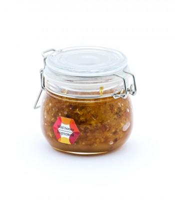 Мед натуральный бортевой 0,2 кг стекло сувенир