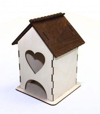 Чайный домик сердечко