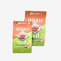 Иван-чай Башкирские подарки с Лимоном и Имбирем 100гр