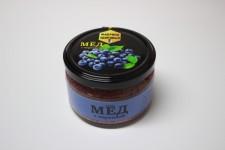 Крем-мёд с черникой 300гр
